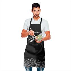 Фартук кулинарный Мастер шеф 2 цвета 3D — фото 2