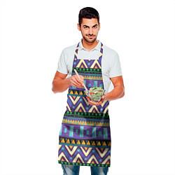 Фартук кулинарный Аргайл цвета 3D-принт — фото 2