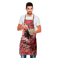 Фартук кулинарный Red Hot Chili Peppers цвета 3D — фото 2