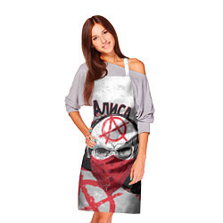 Фартук кулинарный АлисА: Анархия цвета 3D — фото 2