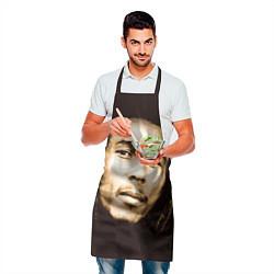 Фартук кулинарный Взгляд Боба Марли цвета 3D — фото 2
