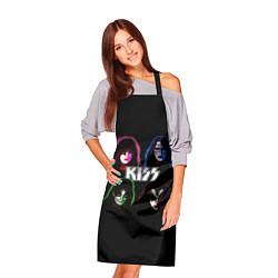 Фартук кулинарный KISS: Acid Colours цвета 3D — фото 2