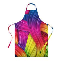 Фартук кулинарный Абстракция цвета цвета 3D — фото 1
