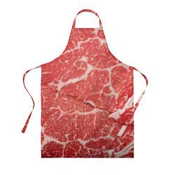 Фартук кулинарный Кусок мяса цвета 3D — фото 1