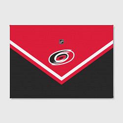 Холст прямоугольный NHL: Carolina Hurricanes цвета 3D-принт — фото 2
