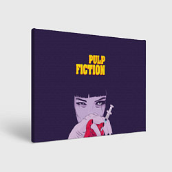 Холст прямоугольный Pulp Fiction: Dope Heart цвета 3D — фото 1
