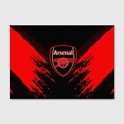 Холст прямоугольный Arsenal FC: Sport Fashion цвета 3D-принт — фото 2