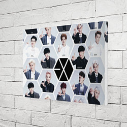 Холст прямоугольный EXO Boys цвета 3D-принт — фото 2