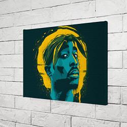 Холст прямоугольный 2Pac Shakur цвета 3D-принт — фото 2