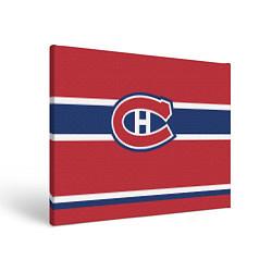 Холст прямоугольный Montreal Canadiens цвета 3D-принт — фото 1