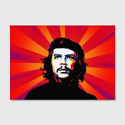 Холст прямоугольный Че Гевара цвета 3D — фото 2