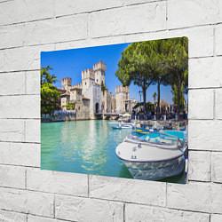 Холст прямоугольный Италия цвета 3D — фото 2