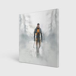Холст квадратный HL: Freeman цвета 3D — фото 1