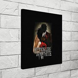 Холст квадратный Motionless in White: Love цвета 3D — фото 2