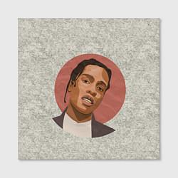 Холст квадратный ASAP Rocky: Runrise цвета 3D — фото 2