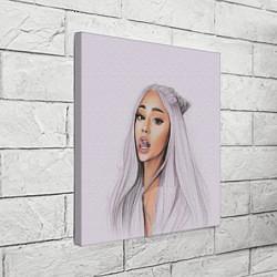 Холст квадратный Ariana Grande Ариана Гранде цвета 3D-принт — фото 2