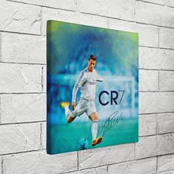 Холст квадратный CR Ronaldo цвета 3D-принт — фото 2