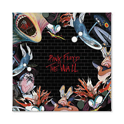 Холст квадратный Pink Floyd: The Wall цвета 3D — фото 2