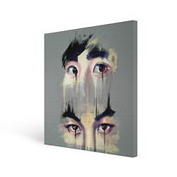 Холст квадратный EXO Eyes цвета 3D — фото 1