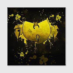 Холст квадратный Wu-Tang Clan: Yellow цвета 3D-принт — фото 2