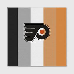 Холст квадратный Philadelphia Flyers цвета 3D-принт — фото 2