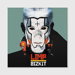 Холст квадратный Limp Bizkit: Faith Face цвета 3D-принт — фото 2