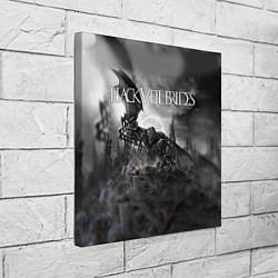 Холст квадратный Black Veil Brides: Faithless цвета 3D-принт — фото 2