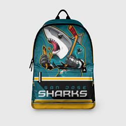 Рюкзак San Jose Sharks цвета 3D-принт — фото 2