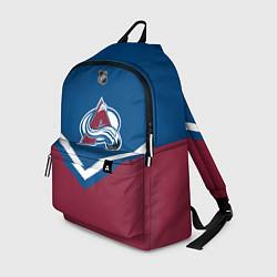 Рюкзак NHL: Colorado Avalanche цвета 3D — фото 1