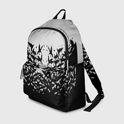 Рюкзак Птичий вихрь цвета 3D — фото 1