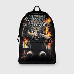 Рюкзак Disturbed: Flame Throne цвета 3D-принт — фото 2