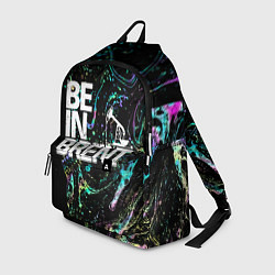 Рюкзак Be in brent цвета 3D-принт — фото 1