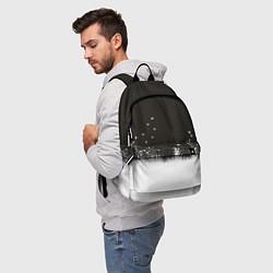 Рюкзак Ночная полянка цвета 3D-принт — фото 2