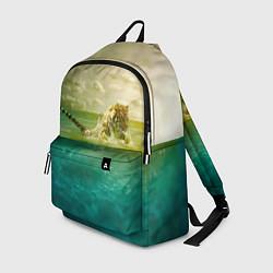 Рюкзак Тигр, жизнь ПИ цвета 3D-принт — фото 1
