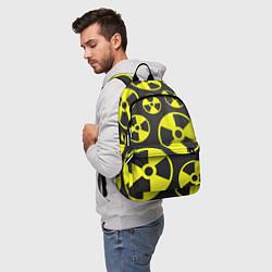 Рюкзак Радиация цвета 3D-принт — фото 2