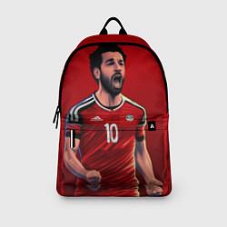 Рюкзак Мохамед Салах цвета 3D-принт — фото 2