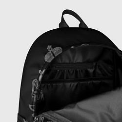 Рюкзак МЧС: герб РФ цвета 3D-принт — фото 2