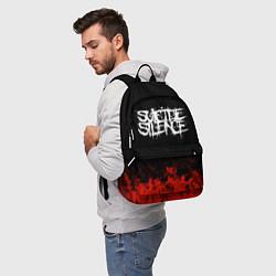 Рюкзак Suicide Silence: Red Flame цвета 3D — фото 2