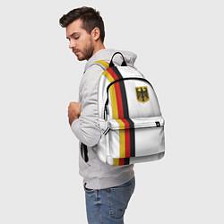 Рюкзак I Love Germany цвета 3D-принт — фото 2