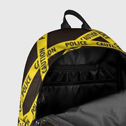 Рюкзак Police Caution цвета 3D-принт — фото 2
