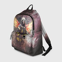 Рюкзак Пожарный ангел цвета 3D — фото 1