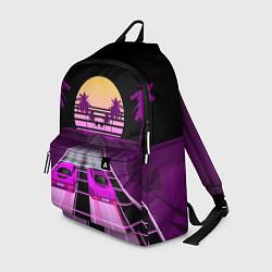 Рюкзак Digital Race цвета 3D-принт — фото 1
