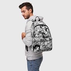 Рюкзак AHEGAO цвета 3D-принт — фото 2