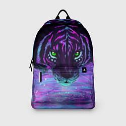Рюкзак Неоновый тигр цвета 3D — фото 2