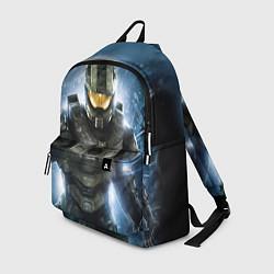 Рюкзак Halo: Soldier Rage цвета 3D-принт — фото 1