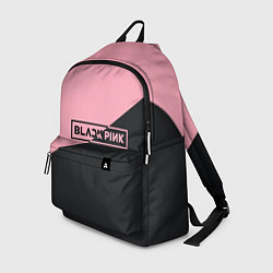 Рюкзак Black Pink цвета 3D-принт — фото 1