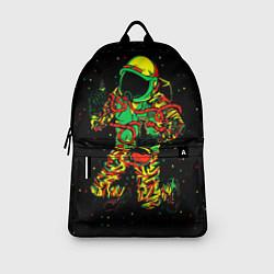Рюкзак Космонавт с кальяном цвета 3D — фото 2