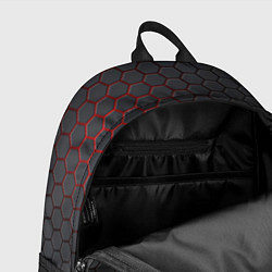 Рюкзак CS:GO Grey Carbon цвета 3D — фото 2
