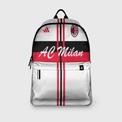 Рюкзак AC Milan: White Form цвета 3D-принт — фото 2