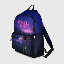 Рюкзак Stranger Things: Neon Road цвета 3D-принт — фото 1